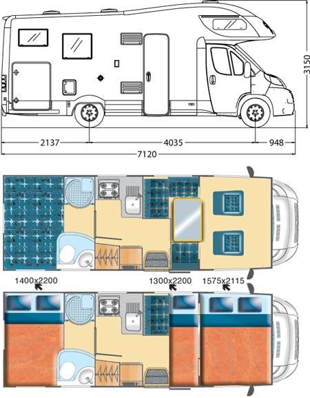 Capucine MCLOUIS Tandy 6G Camping-Car Magazine